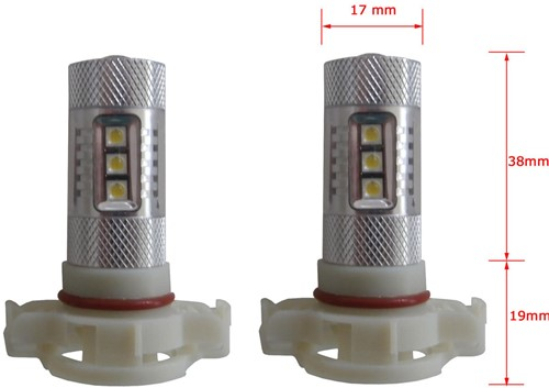 22w LED dagrijverlichting PSX24w-1