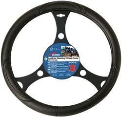 Auto stuurhoes PVC type Delivery VAN 42cm Zwart