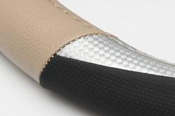Auto stuurhoes Ergo-Carbon beige