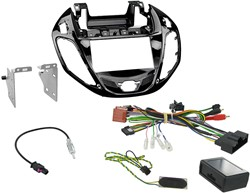 2DIN KIT Ford B-MAX 2012 > Piano Zwart