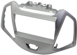 2-DIN Eco Frame, Ford Ecosport 2013- Zilver