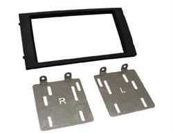 2-DIN frame ECO FRAME SEAT Ibiza 2015- Zwart met oem navi