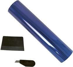 Zonfilter blauw 20x150cm