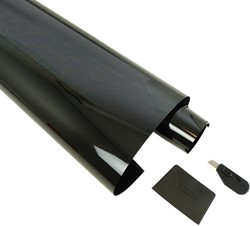 Ruitenfolie limoblack3% 300 x 50cm