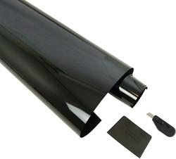 Ruitenfolie krasbestendig donkergrijs 5% 300 x 50cm