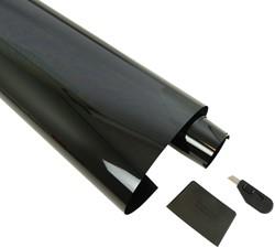 Ruitenfolie krasbestendig lichtgrijs 35% 300 x 76cm