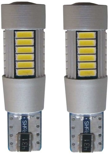 27 HP SMD LED W5W-T10 - wit-1