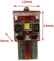 3 Canbus CREE LED W5W-T10 wit-2