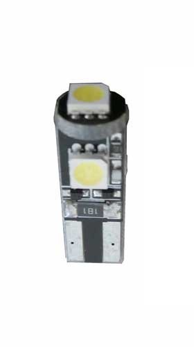 3 SMD CANBUS LED Stadslicht motor W5W T10