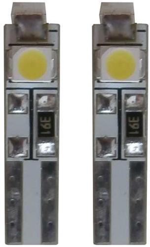24v 3 SMD LED W3W-T5 - wit-2
