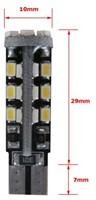 30 SMD CANBUS LED Stadslicht motor W5W T10-2