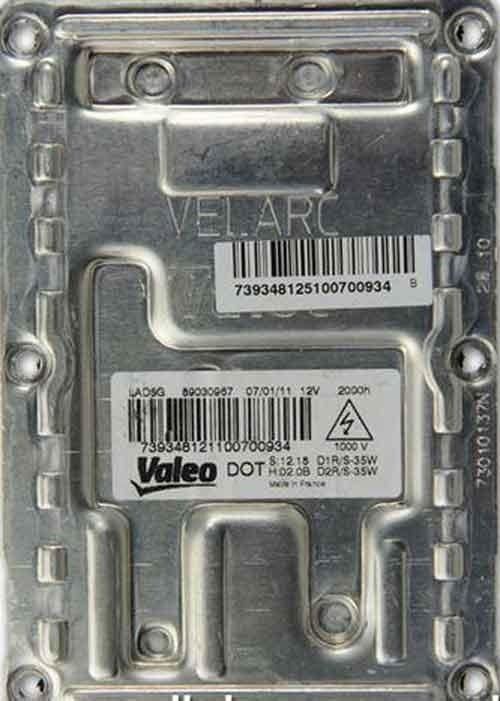 Valeo 5GL ballast geschikt voor Chrysler/Saab/Renault/Citroen