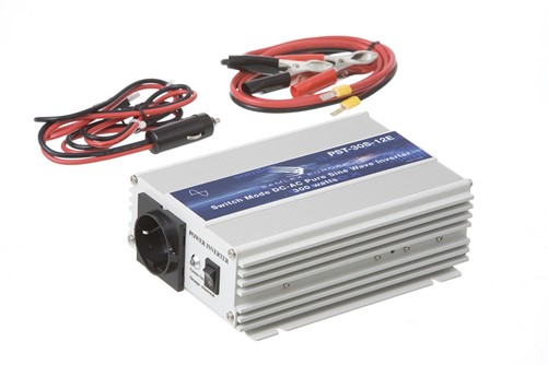 Omvormer 12V - 230V 300W zuivere sinus