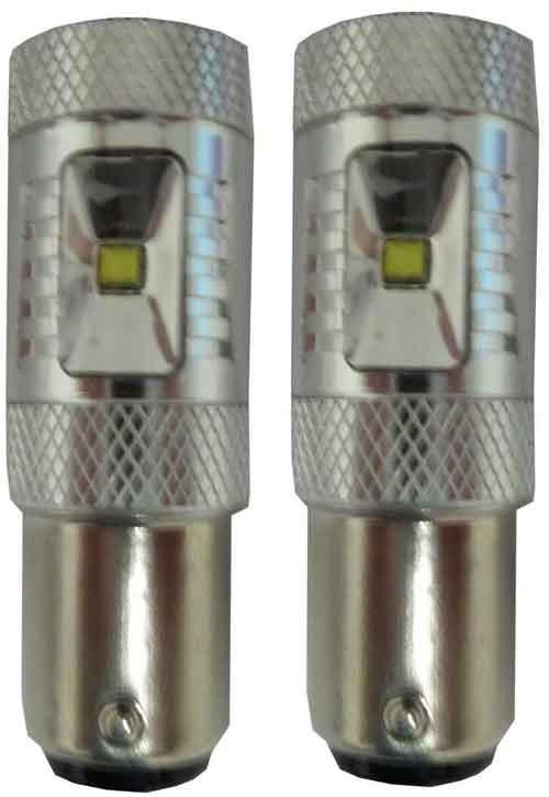 30w BA15S Canbus LED knipperlicht - Oranje