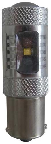 30w BA15s Canbus LED remlicht / achterlicht - wit