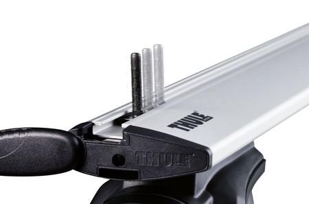 Thule 697104  Box T-track adapter 20x27mm for 80mm U-bolt