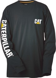 CAT Longsleeve, zwart