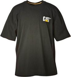 CAT T-Shirt LOGO, zwart