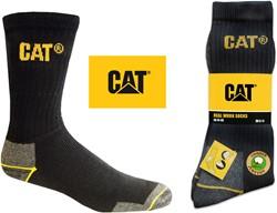 CAT Werksokken, zwart, 3-pack