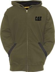 CAT Sweatshirt TEC, mosgroen