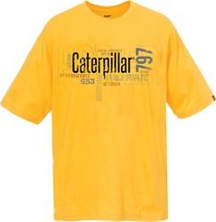 CAT T-Shirt ENGINE, geel