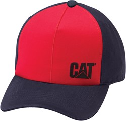 CAT Pet SIDE LOGO, rood blauw