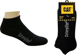 CAT Sneakersokken zwart, 3-pack