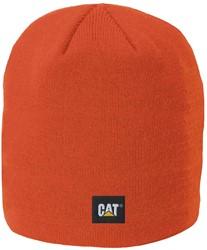 CAT Gebreide muts Logo Knit FIJN, oranje