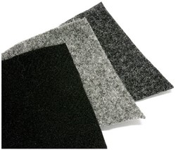4 CONNECT grey Upholstery carpet  size: 1,36mx2,1m