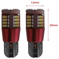 40 SMD Canbus LED stadslicht W5W-T10 - wit
