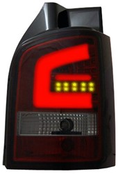 LED achterlicht unit VW T5 Red/Smoke