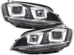 3D LED koplamp VW Golf 7 GTI Black Look
