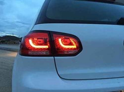 LED achterlicht unit VW Golf 6 Red Clear V2