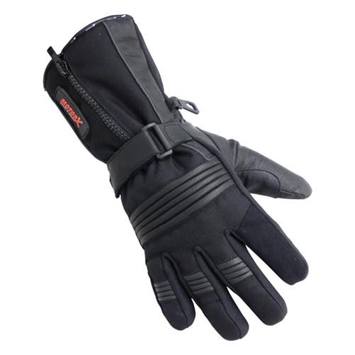 Motorhandschoenen leder winter zwart XXL