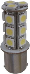 LED 18 SMD-BA15s / P21w-Wit achterverlichting