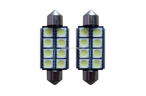 8 SMD Canbus LED kenteken 41mm
