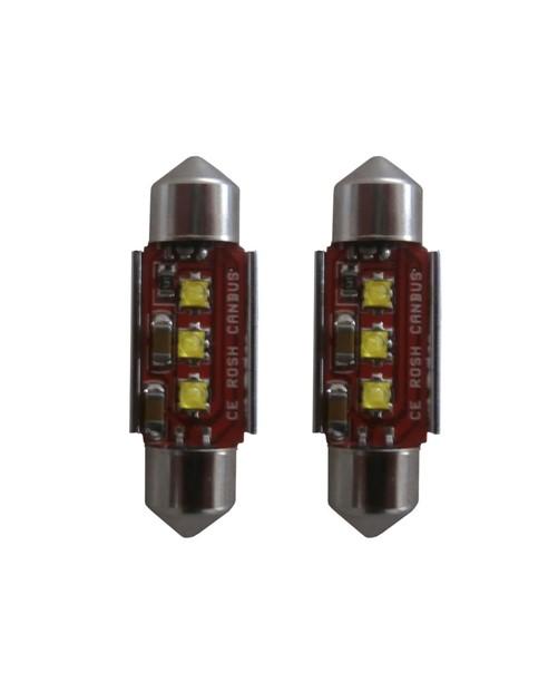 3 CREE LED Canbus 2.0 kenteken verlichting