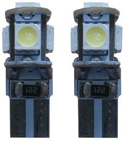 LED 5 SMD W5W binnenverlichting oranje