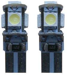 5 SMD CANBUS LED kenteken W5W T10