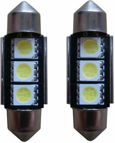 3 SMD Canbus LED binnenverlichting 36mm C5W