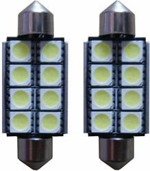 8 SMD LED kentekenverlichting 41mm