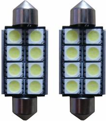 8 SMD LED binnenverlichting 41mm