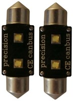 2 High Power SMD Canbus LED 42mm - wit
