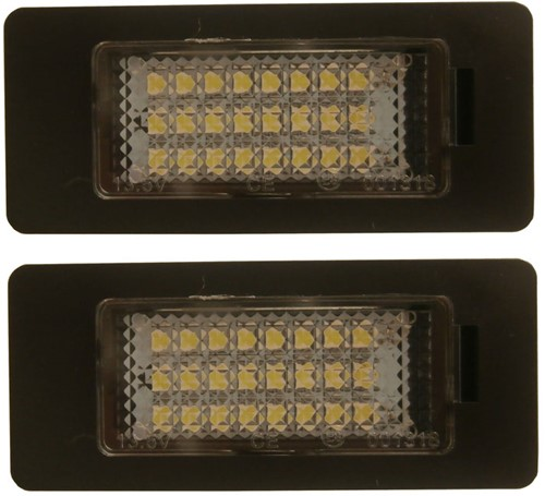 BMW E39 LED kenteken unit