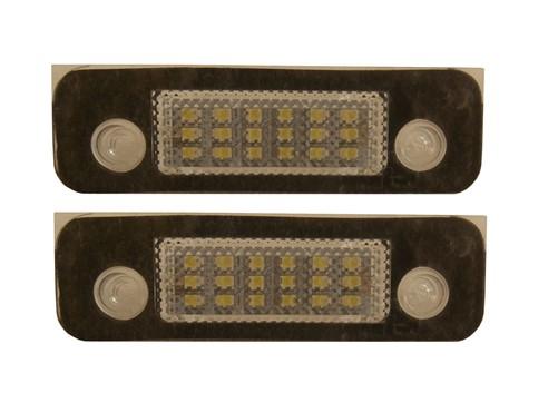 LED kenteken verlichting geschikt voor Ford Fiesta-Fusion-Mondeo