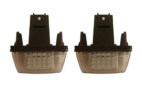 LED kentekenverlichting geschikt voor Citroen