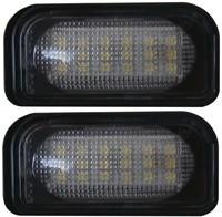 Mercedes W203 4deurs LED kentekenverlichting unit-1
