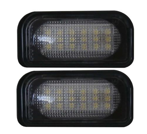 LED kentekenverlichting unit geschikt voor Mercedes W203 4deurs