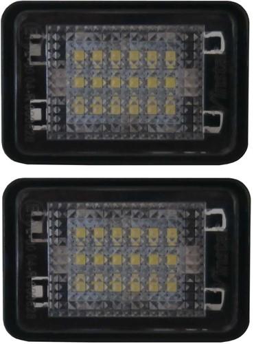 Mercedes Benz GLK X204 LED kentekenverlichting-1