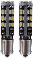 30 SMD Canbus LED knipperlicht BAY9s / H21w - wit-1